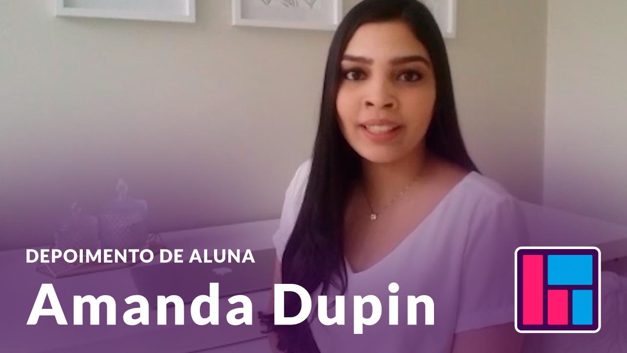 DDepoimento Amanda Dupun
